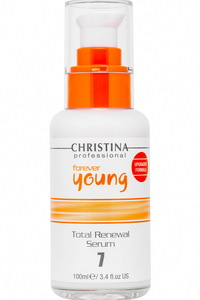 Christina Forever Young Total Renewal Serum(Step 7) 全效煥顏精華100ml 3.4fl.oz