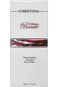 Château de Beauté Rejuvenating Vineyard Eye Cream 红酒再⽣生焕彩眼霜30ml 1fl.oz