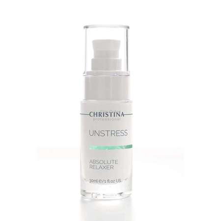 Christina Unstress Absolute Relaxer 30ml 1fl.oz乳酸菌极致舒缓霜精华液