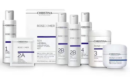 Christina Rose De Mer Professional Kit (6 Products)阿拉丁焕肤