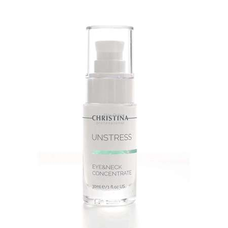 Christina Unstress Eye And Neck Concentrate 30ml 1fl.oz乳酸菌眼部及颈部浓缩精华液