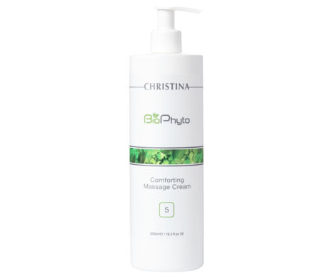Christina BioPhyto - Comforting Massage Cream 水凝按摩乳霜500ml (Step 5)